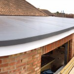 PVC single ply extension roof