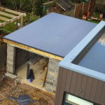 PVC single ply garage roof 2